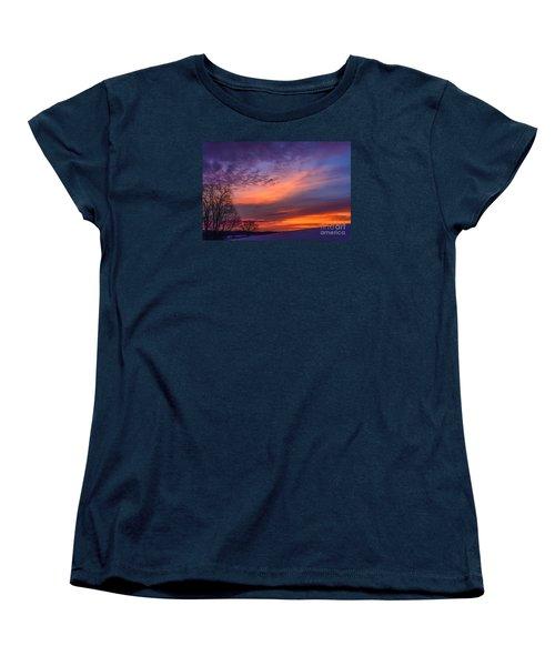 Dawn Of The Day Women's T-Shirt (Standard Cut) by Thomas R Fletcher