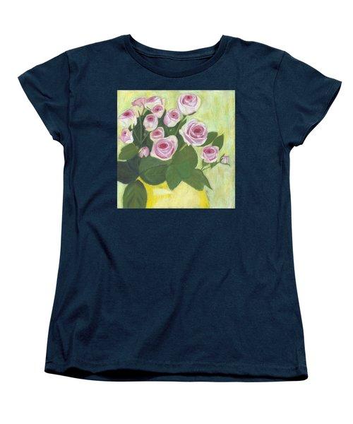 15 Pinks Women's T-Shirt (Standard Cut) by Arlene Crafton