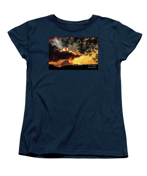 Women's T-Shirt (Standard Cut) featuring the photograph Appalachian Sunset by Thomas R Fletcher