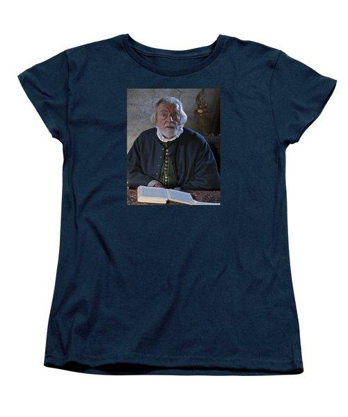 1600's Pilgrim Women's T-Shirt (Standard Cut) by Stephen Flint