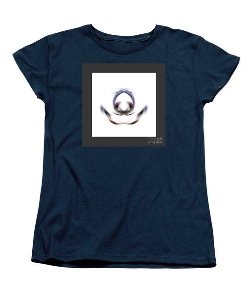Women's T-Shirt (Standard Cut) featuring the digital art 165-2015 by John Krakora