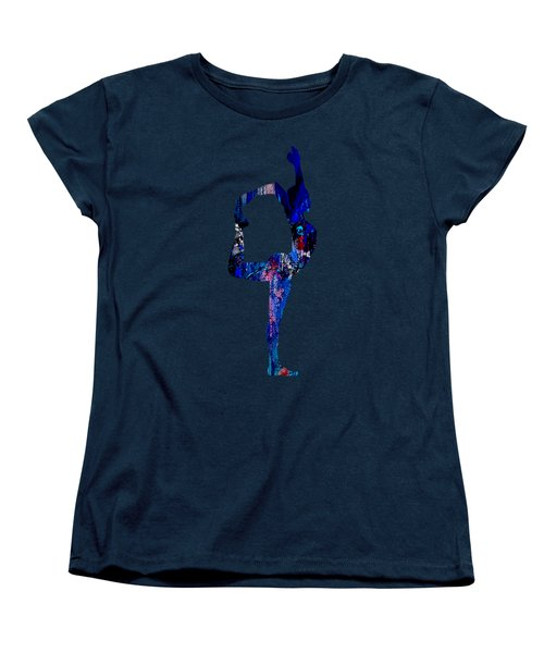 Yoga Collection Women's T-Shirt (Standard Cut) by Marvin Blaine
