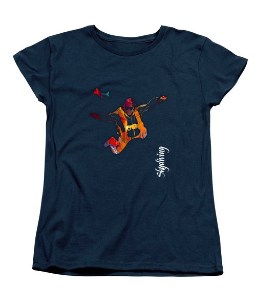 Skydiving Collection Women's T-Shirt (Standard Cut) by Marvin Blaine