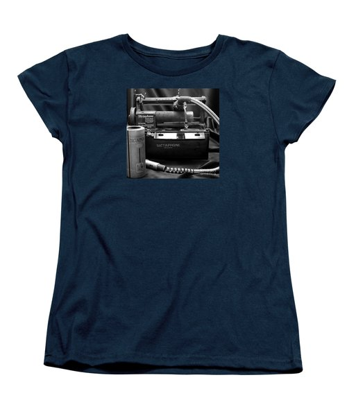 Women's T-Shirt (Standard Cut) featuring the photograph 1912 Dictaphone  by Ricky L Jones