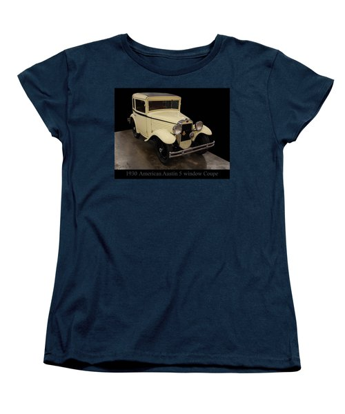 1930 American Austin 5 Window Coupe Women's T-Shirt (Standard Cut) by Chris Flees