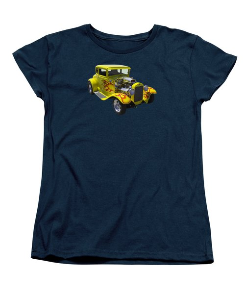 1930 Model A Custom Hot Rod Women's T-Shirt (Standard Cut) by Keith Webber Jr