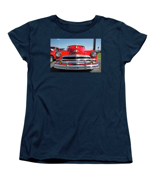 1950 Plymouth Automobile Women's T-Shirt (Standard Cut) by Kevin McCarthy