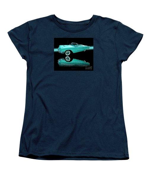 1959 Ford Thunderbird Women's T-Shirt (Standard Cut) by Jim Carrell