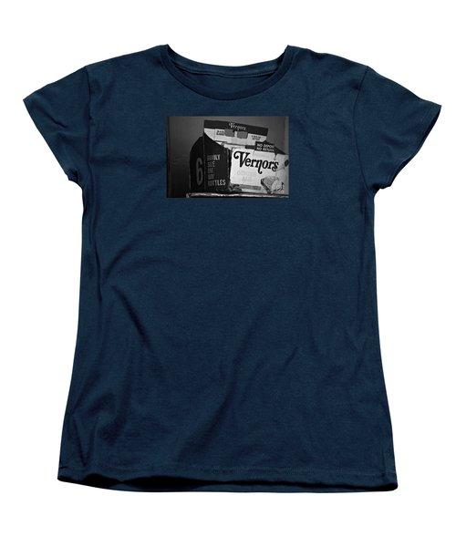 1960's Vernors Box. No Deposit, No Rerurn  Women's T-Shirt (Standard Cut) by Sandra Church