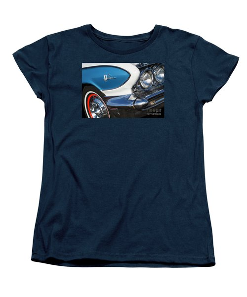 Women's T-Shirt (Standard Cut) featuring the photograph 1961 Buick Le Sabre by Dennis Hedberg