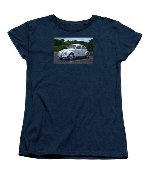 1963 Vw Herbie  Women's T-Shirt (Standard Cut) by Tim McCullough