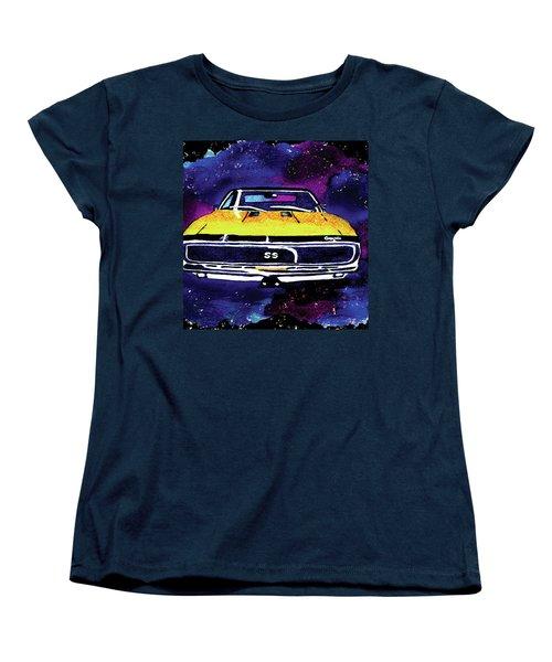 1967 Chevy Camaro Ss Women's T-Shirt (Standard Cut) by Paula Ayers