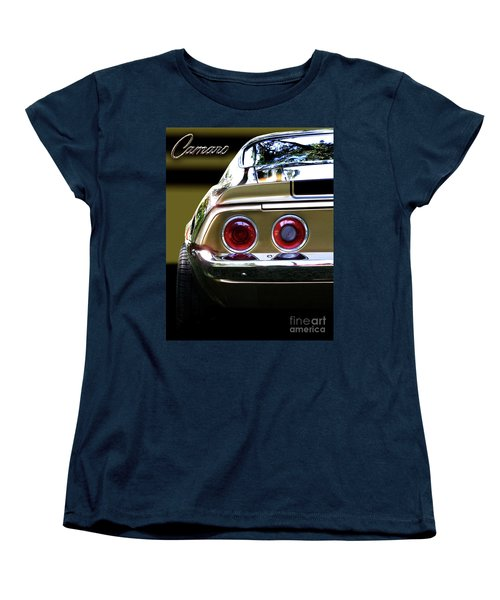 1970 Camaro Fat Ass Women's T-Shirt (Standard Cut) by Peter Piatt