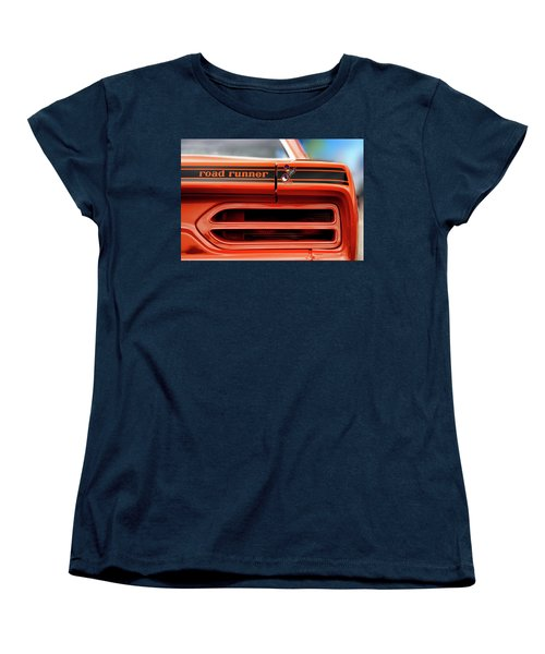 1970 Plymouth Road Runner - Vitamin C Orange Women's T-Shirt (Standard Cut) by Gordon Dean II