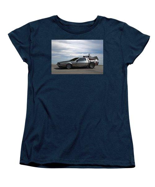 1981 Delorean Dmc12 Women's T-Shirt (Standard Cut) by Tim McCullough