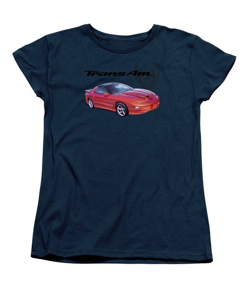 1999 Trans Am Women's T-Shirt (Standard Cut) by Paul Kuras