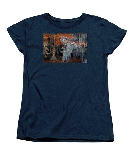 Autumn Moss Women's T-Shirt (Standard Cut) by Lana Trussell