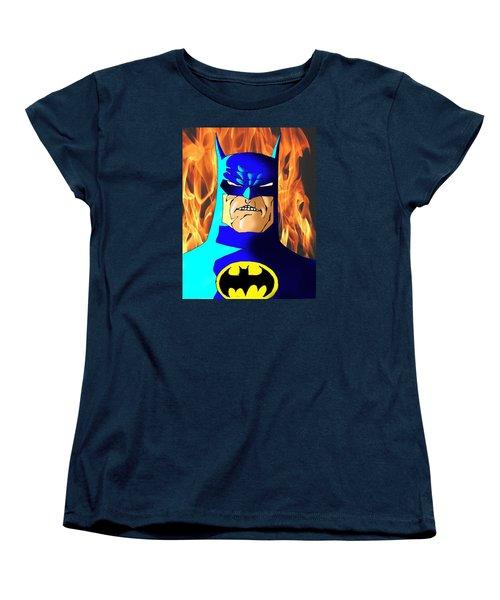 Old Batman Women's T-Shirt (Standard Cut) by Salman Ravish