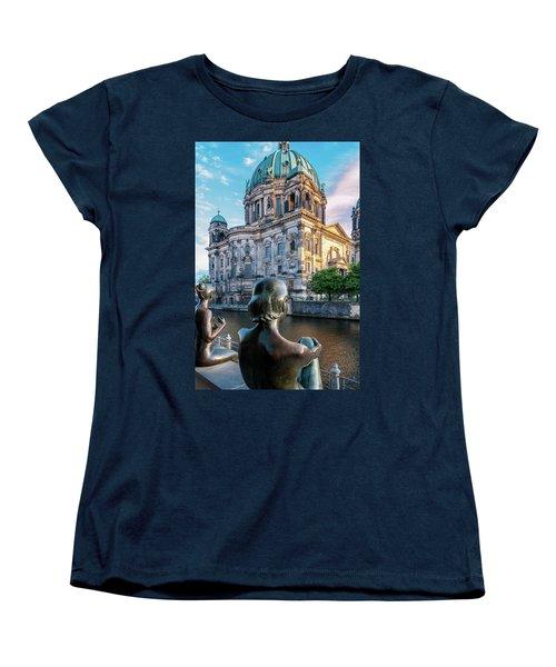 Berlin Women's T-Shirt (Standard Cut) by Stavros Argyropoulos