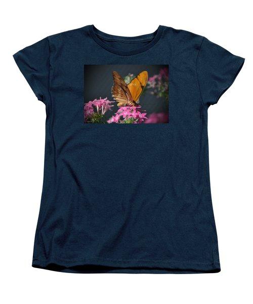 Women's T-Shirt (Standard Cut) featuring the photograph Butterfly by Savannah Gibbs