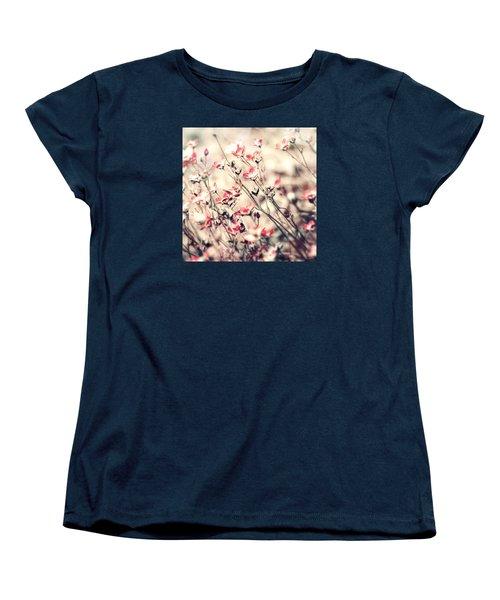 Carefree Women's T-Shirt (Standard Cut) by Bonnie Bruno