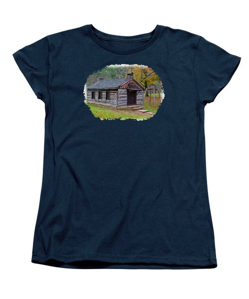 Church Women's T-Shirt (Standard Cut) by John M Bailey