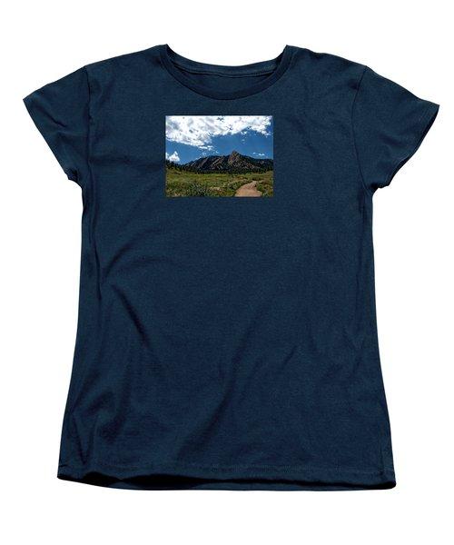 Colorado Landscape Women's T-Shirt (Standard Cut) by Anthony Dezenzio