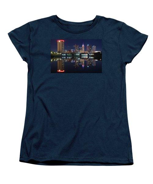 Columbus Ohio Women's T-Shirt (Standard Cut) by Frozen in Time Fine Art Photography