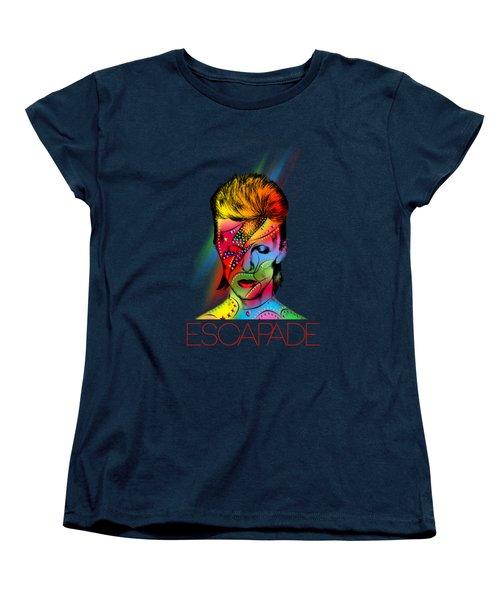 David Bowie Women's T-Shirt (Standard Fit)