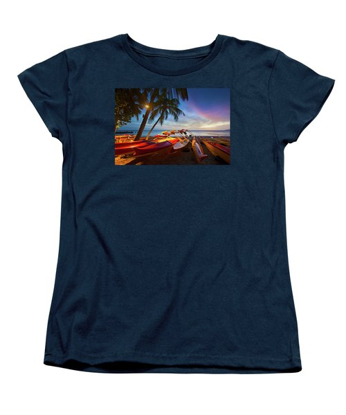 Evening Falls Women's T-Shirt (Standard Cut) by James Roemmling
