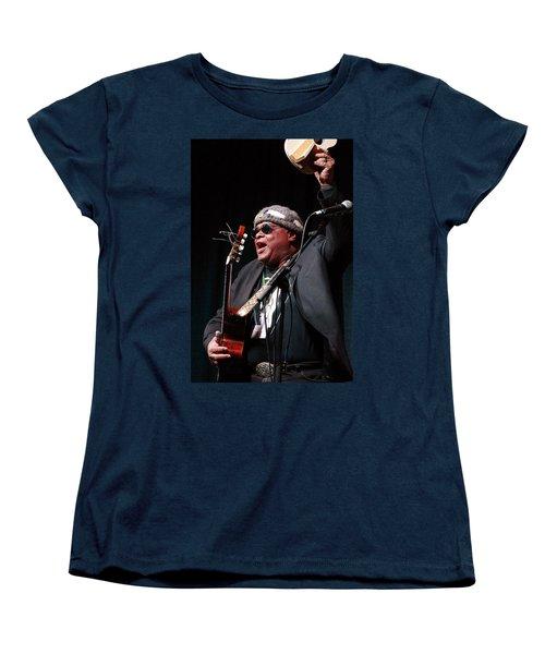 Women's T-Shirt (Standard Cut) featuring the photograph Folk Alliance 2014 by Jim Mathis