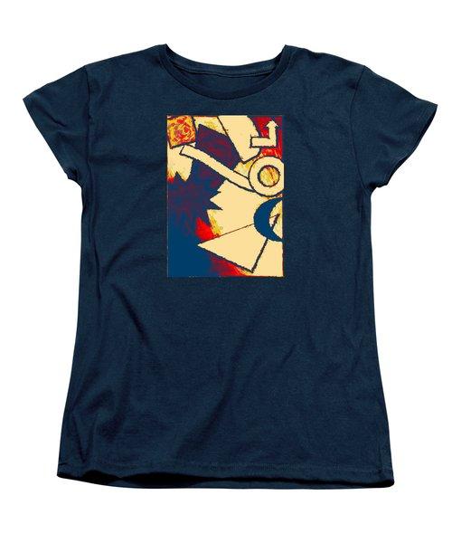 Funky Fanfare Women's T-Shirt (Standard Cut) by Kyle West