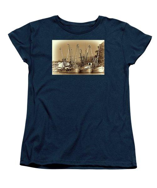Georgetown Shrimpers Women's T-Shirt (Standard Cut)