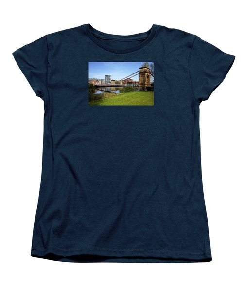 Women's T-Shirt (Standard Cut) featuring the photograph Glasgow by Jeremy Lavender Photography