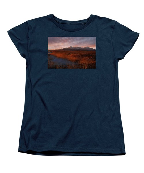 Great Salt Lake Women's T-Shirt (Standard Cut) by Utah Images