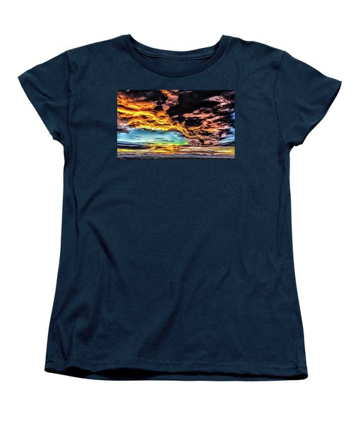 Women's T-Shirt (Standard Cut) featuring the photograph I Am That I Am by Michael Rogers