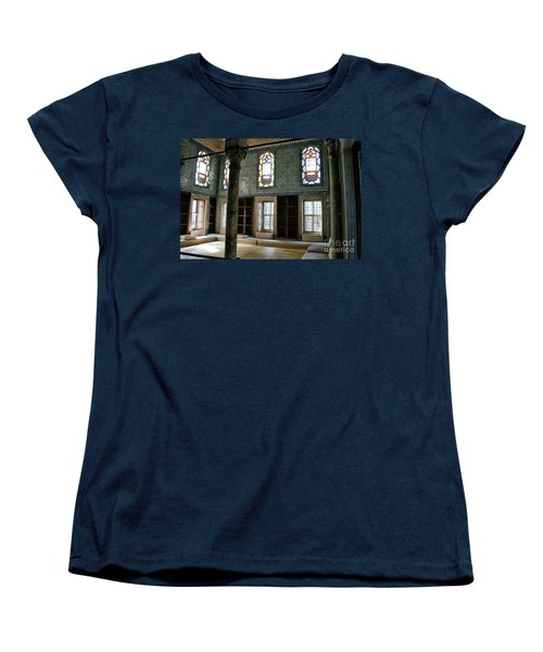 Women's T-Shirt (Standard Cut) featuring the photograph Inside The Harem Of The Topkapi Palace by Patricia Hofmeester
