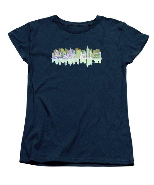 London England Skyline Women's T-Shirt (Standard Cut) by John Groves