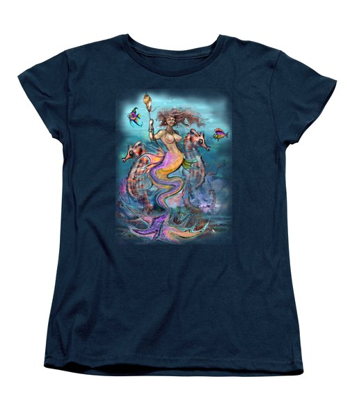 Mermaid Women's T-Shirt (Standard Cut) by Kevin Middleton