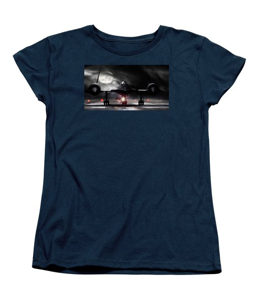 Night Moves Women's T-Shirt (Standard Cut) by Peter Chilelli