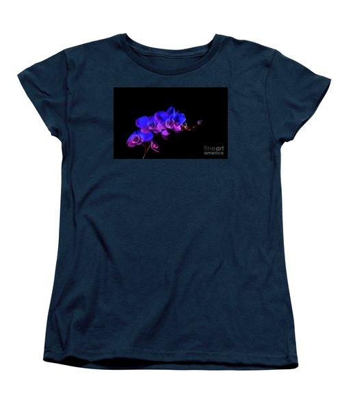 Orchid Women's T-Shirt (Standard Cut) by Brian Jones