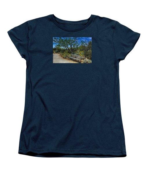 Peaceful Moment Women's T-Shirt (Standard Cut) by Elaine Malott
