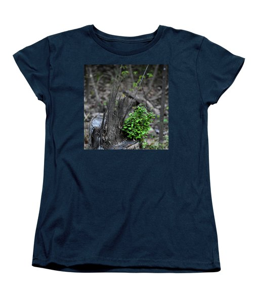 Women's T-Shirt (Standard Cut) featuring the photograph Persistence by Skip Willits