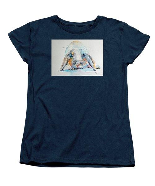 Rabbit Women's T-Shirt (Standard Cut) by Kovacs Anna Brigitta