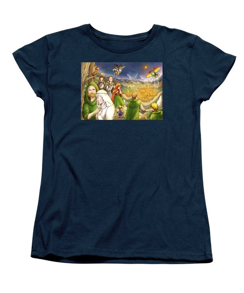 Robin Hood And Matilda Women's T-Shirt (Standard Cut) by Reynold Jay