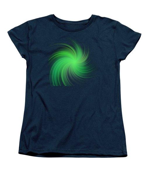 Spiral Women's T-Shirt (Standard Cut) by Michal Boubin
