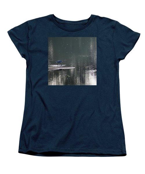 Women's T-Shirt (Standard Cut) featuring the photograph Stalker  by Skip Willits