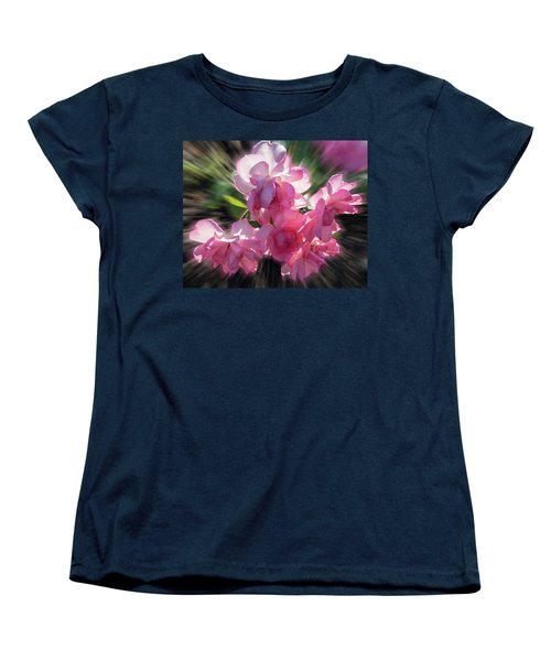 Women's T-Shirt (Standard Cut) featuring the photograph Summer Flowers by Vladimir Kholostykh