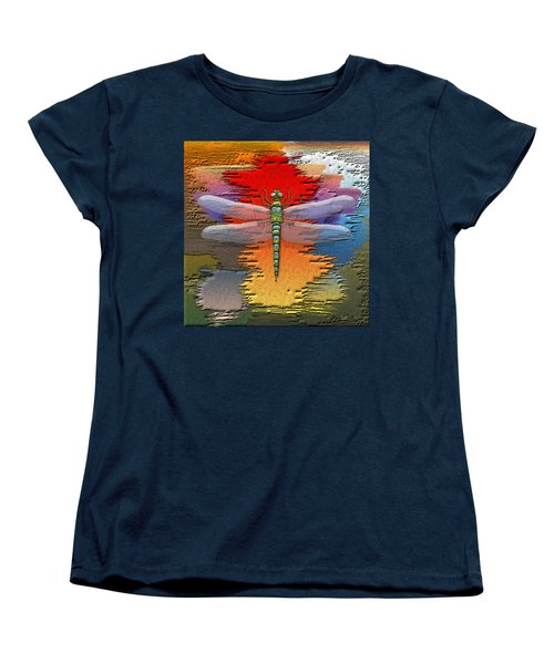 The Legend Of Emperor Dragonfly Women's T-Shirt (Standard Cut) by Serge Averbukh