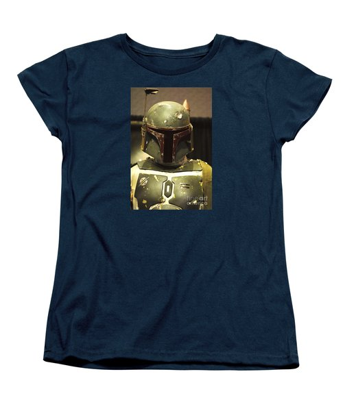 The Real Boba Fett Women's T-Shirt (Standard Cut) by Micah May